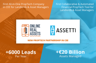 Online Real Assets PropTech to close circle by offering 360⁰ digital services to asset managers in CEE