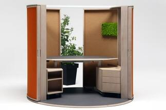 The Office Shell product of Dizz Concept won the Future Office Champion award