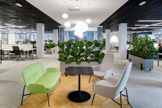 A new focus of office space